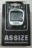 Велокомпьютер, спидометр ASSIZE AS - 505 проводной (11 режимов)