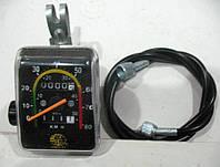 Велоспидометр механический. модель 092 2 функции