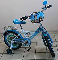 Детский двухколёсный велосипед КОРСАР для мальчика бирюзовый