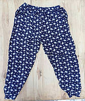Cултанки БАТАЛ 50-58 размер женские цветные ЗОЛОТО с карманами и манжетами (разные рисунки)  ЛЖЛ-5