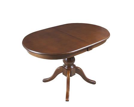Стол раскладной Виктория Н шпон 1200(1600)*800 , фото 2