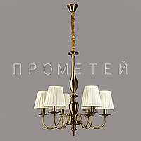 Люстра классическая на 6 лампочек AB (античная бронза) P13-RM5601/6/GAB