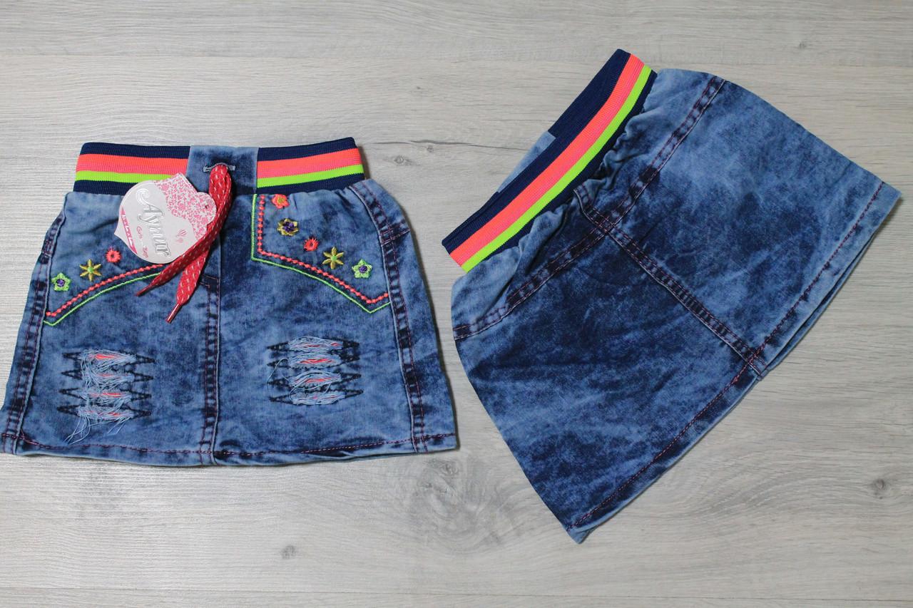 Джинсовые юбки для девочек 3 года