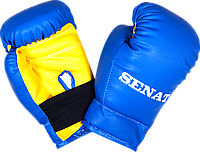 Боксерские перчатки детские 4 унции кож.зам