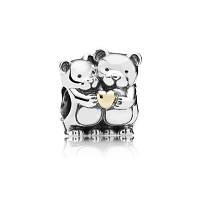 Шарм Pandora Мишки с сердцем, Пандора серебро