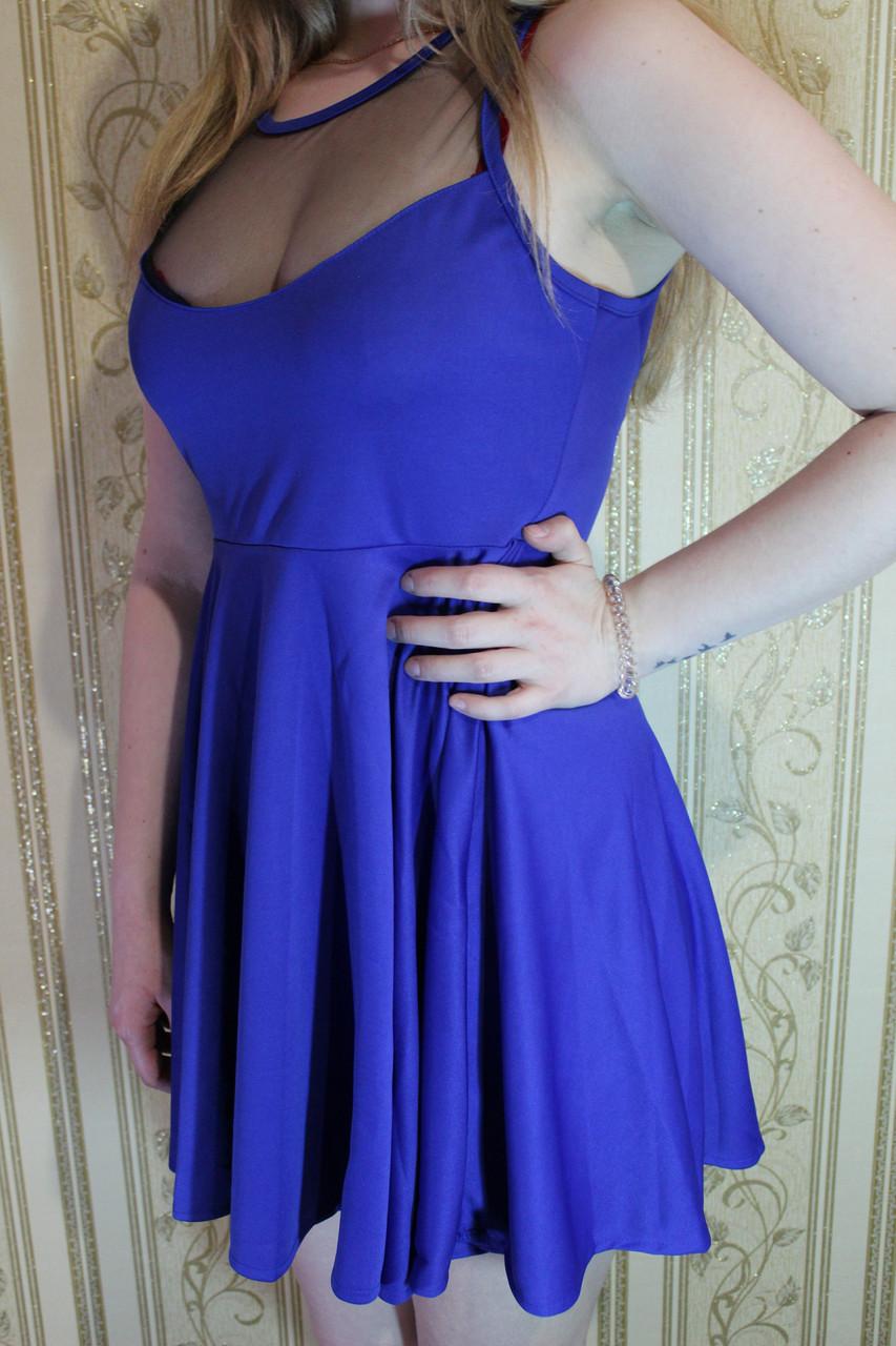 e13098742a0 РАСПРОДАЖА Лёгкое летнее платье мини ретро с юбкой солнце клёш