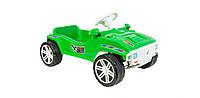 Машинка для катания, каталка педальная, зелёная ОРИОН 792