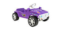 Машинка для катания, каталка педальная, Фиолетовая, ОРИОН 792