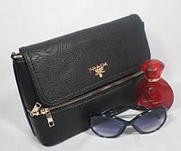 Комбинированная модная сумочка для девушки с перфорацией