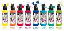 Краски спреи для росписи тканей