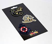 """Наклейки-термо на текстиль 8407 """"Якорь"""""""