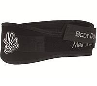 Атлетический пояс черного цвета (XL) Mad Max Belt EXTREME MFB-313 для дома и спортзала, Киев