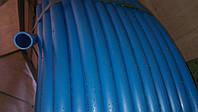 Пищевая труба полиэтиленовая 25 мм 6 атм (синяя)