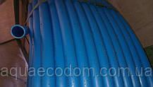 Харчова труба поліетиленова 25 мм 6 атм (синя)