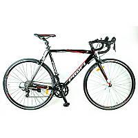 Спортивный велосипед 28 дюймов Profi G56CITY A700C-1 руль-баран (черный)