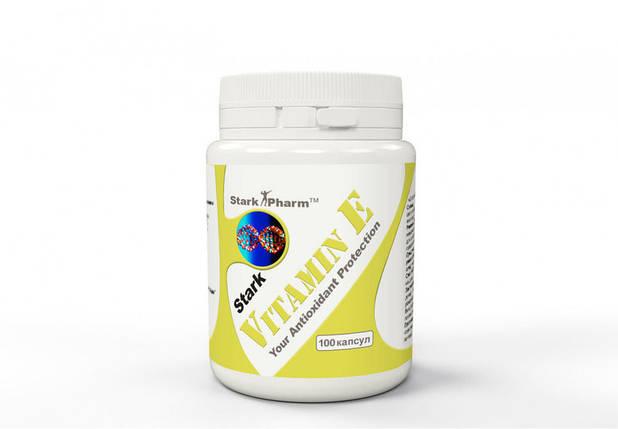 Vitamin E 294 mg (400 IU) Stark Pharm 100 caps, фото 2
