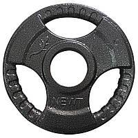 Диск тяжелоатлетический с хватами  1,25 кг