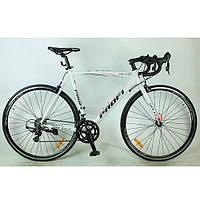 Спортивный велосипед 28 дюймов Profi G53CITY A700C-2 (бело-розовый)