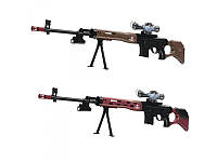 Ружье детское 119см, водяные пули, очки, свет, лазер