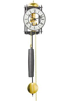 Часы настенные с боем HERMLE 70974-000711 (620х150х100 мм) [Металл]