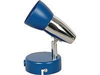 Спот DISCO 3014/1    E14x40W синий / хром