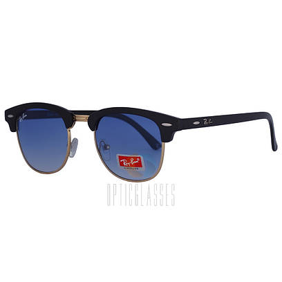 Очки Ray Ban 3016 Clubmaster, pl. lenses blue