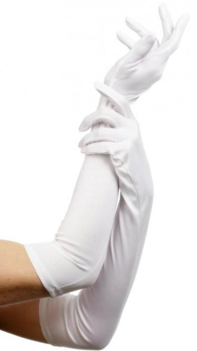 Белые перчатки