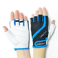Женские тренировочные перчатки для фитнеса (L) Stein BETTY GLL-2311 blue, Киев