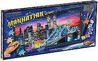 """Художественный творческий набор """"Манхэттен ночью"""". Картины по номерам Schipper 922 0369"""