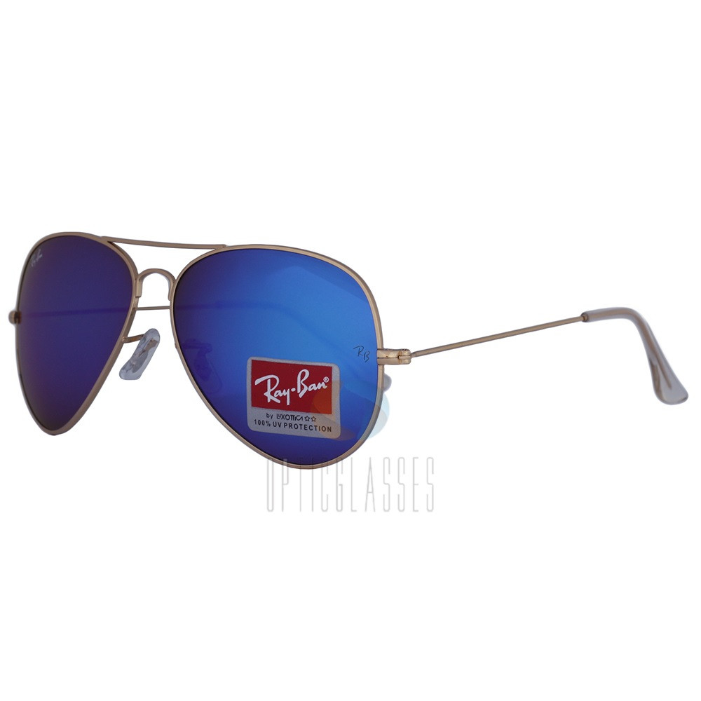 Очки Ray Ban 3026 Aviator (blue)
