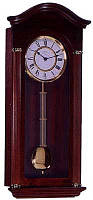 Часы настенные с маятником HERMLE 70628-032214 (620*285*145 мм) [Дерево]