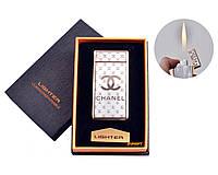 """USB + газовая зажигалка в подарочной упаковке """"CHANEL"""" №4821-5"""