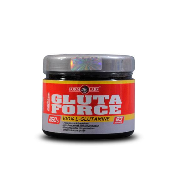 Глютамин GlutaForce Form Labs 250g