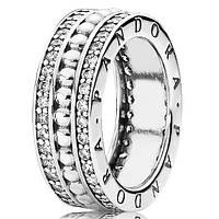 Пандора Pandora кольцо серебро 925