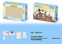 Набор белой мебели для гостиной Happy Family 012-11B