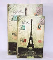 """Книга-шкатулка """"Париж"""" на магните набор 2в1 330-13"""