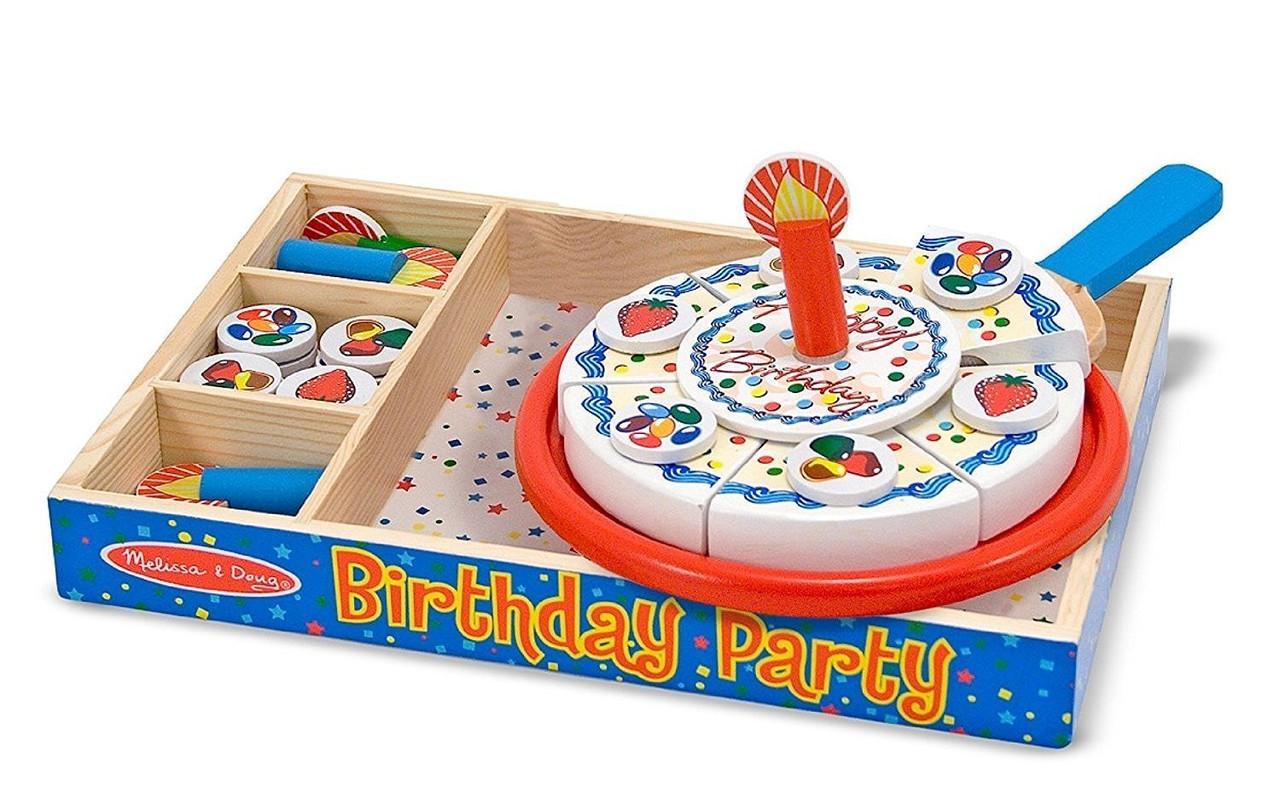 Деревянный набор День рождения торт Melissa&Doug (MD10511)