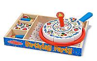 Деревянный набор Melissa&Doug День рождения торт (MD10511)