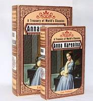"""Книга-шкатулка """"Анна Каренина"""" на магните набор 2в1 330-11"""