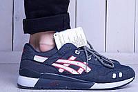 Мужские кроссовки Asics Gel Lite (асикс, реплика)