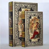 """Книга-шкатулка """"Религиозная Книга"""" на магните набор 2в1 330-18"""