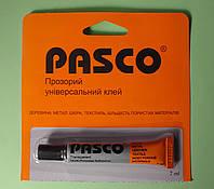 Клей универсальный Pasco, прозрачный, 7 мл