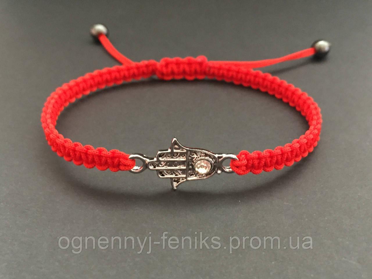 Красная нить на запястье с амулетом руки от чего оберегает амулет хамса