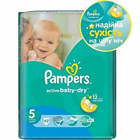 Памперсы Pampers Active Baby-Dry Junior (11-18 кг)  42шт