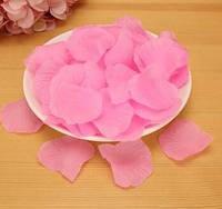 Лепестки роз искусственные для свадьбы розовые
