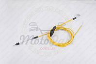 Трос газа Honda DIO AF34 (2150mm, уп.1шт, желтый) (код товара T-565)
