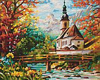 """Художественный творческий набор """"Церковь Святого Себастьяна в Рамзау"""". Картины по номерам Schipper 943 0729"""