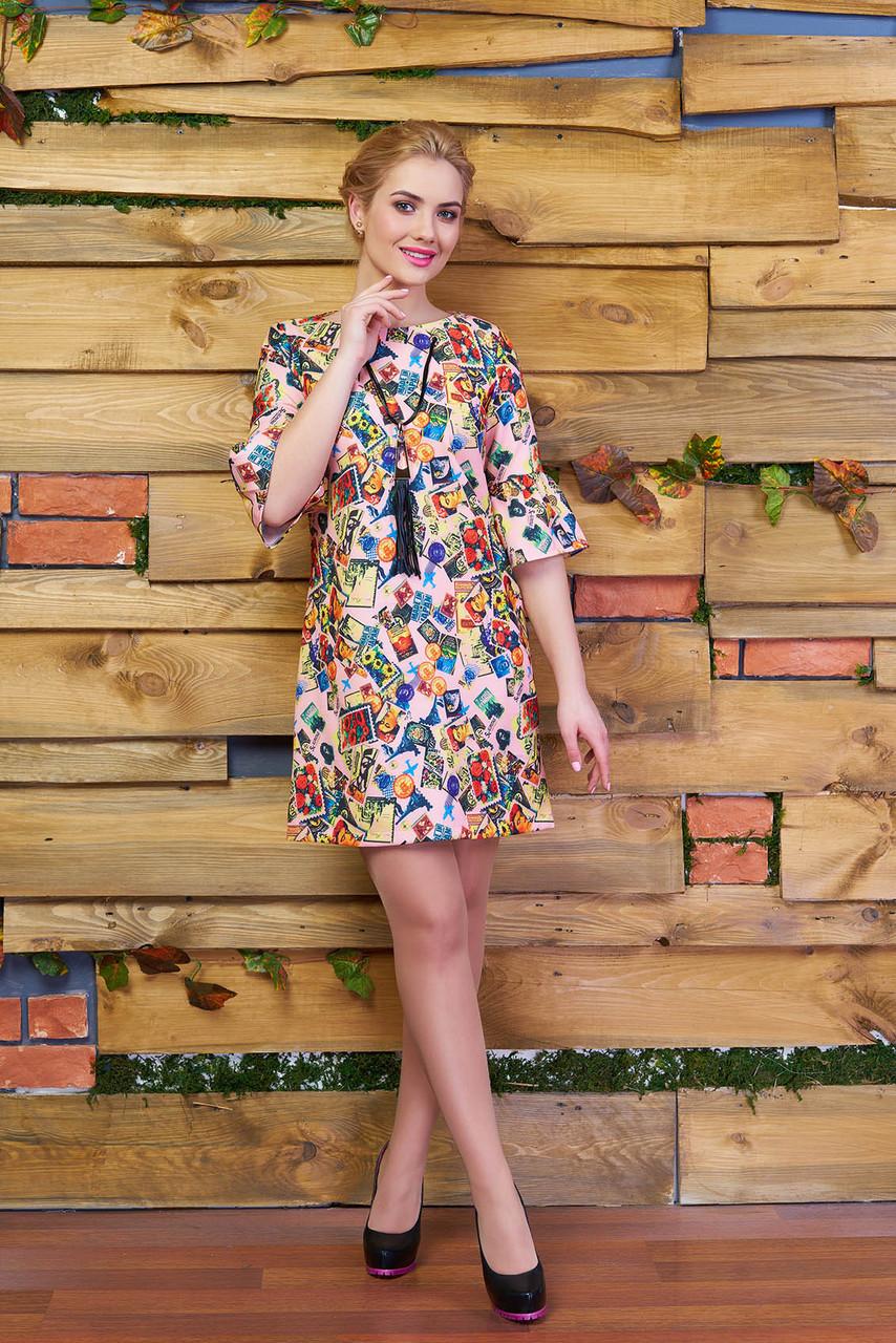 Платье стильное Феличе р 44,46,48,50