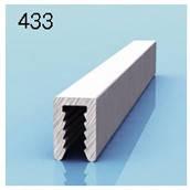 Профиль П-образный для алюминиевых композитных панелей 3мм