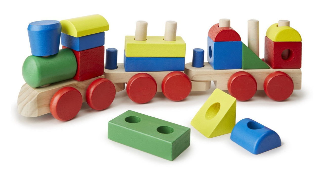 Поезд c кубиками Melissa & Doug (MD572)
